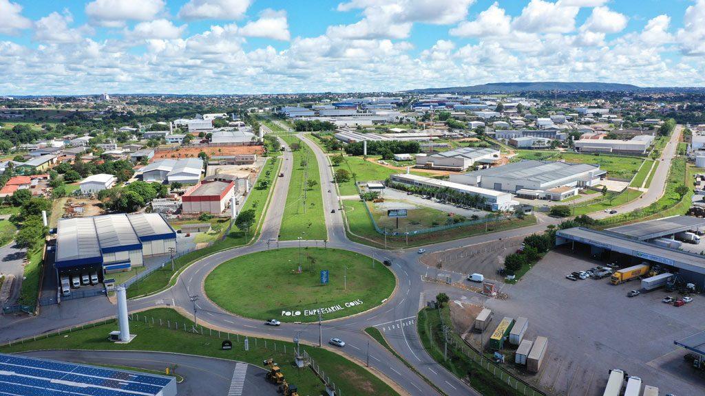 Polo Empresarial Goiás em Aparecida de Goiânia
